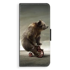 Flipové pouzdro iSaprio Medvěd 01 na mobil Samsung Galaxy Note 8