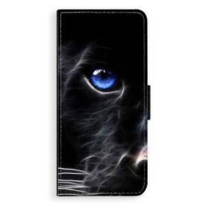 Flipové pouzdro iSaprio Black Puma na mobil Samsung Galaxy Note 8