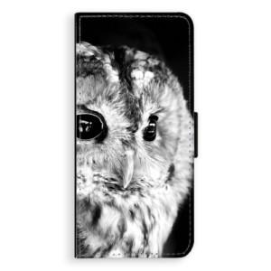 Flipové pouzdro iSaprio BW Sova na mobil Samsung Galaxy Note 8