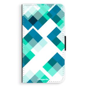 Flipové pouzdro iSaprio Abstract Squares 11 na mobil Samsung Galaxy A3