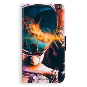 Flipové pouzdro iSaprio Astronaut 01 na mobil Samsung Galaxy A3
