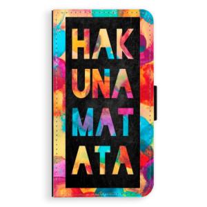 Flipové pouzdro iSaprio Hakuna Matata 01 na mobil Samsung Galaxy A3