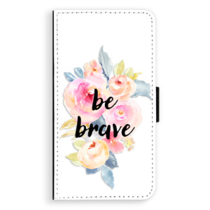 Flipové pouzdro iSaprio Be Brave na mobil Samsung Galaxy A3