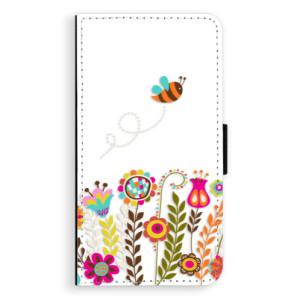 Flipové pouzdro iSaprio Včelka Pája 01 na mobil Samsung Galaxy A3