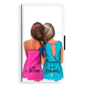 Flipové pouzdro iSaprio Best Friends na mobil Samsung Galaxy A3