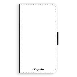 Flipové pouzdro iSaprio 4Pure bílé na mobil Samsung Galaxy A3