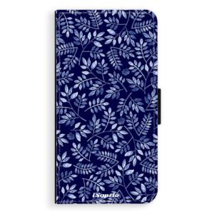 Flipové pouzdro iSaprio Blue Leaves 05 na mobil Samsung Galaxy A5