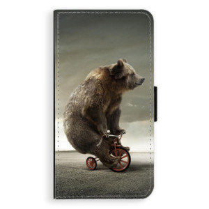 Flipové pouzdro iSaprio Medvěd 01 na mobil Samsung Galaxy A5