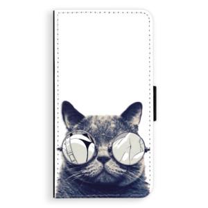 Flipové pouzdro iSaprio Šílená Číča 01 na mobil Samsung Galaxy A5