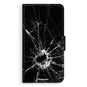 Flipové pouzdro iSaprio Broken Glass 10 na mobil Samsung Galaxy J5