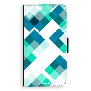 Flipové pouzdro iSaprio Abstract Squares 11 na mobil Samsung Galaxy J5