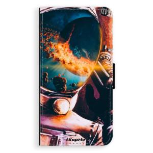Flipové pouzdro iSaprio Astronaut 01 na mobil Samsung Galaxy J5