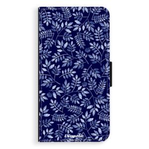 Flipové pouzdro iSaprio Blue Leaves 05 na mobil Samsung Galaxy J5