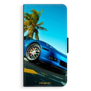 Flipové pouzdro iSaprio Kára 10 na mobil Samsung Galaxy J5
