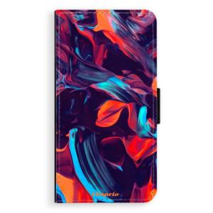 Flipové pouzdro iSaprio Barevný mramor 19 na mobil Samsung Galaxy J5