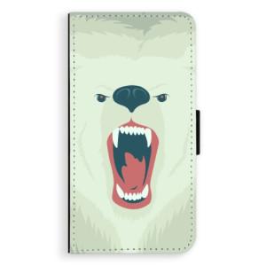 Flipové pouzdro iSaprio Naštvanej Medvěd na mobil Samsung Galaxy J5