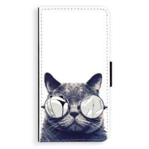 Flipové pouzdro iSaprio Šílená Číča 01 na mobil Samsung Galaxy J5