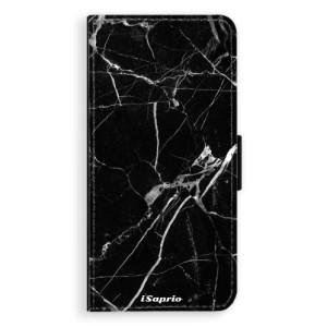 Flipové pouzdro iSaprio Black Marble 18 na mobil Sony Xperia XA