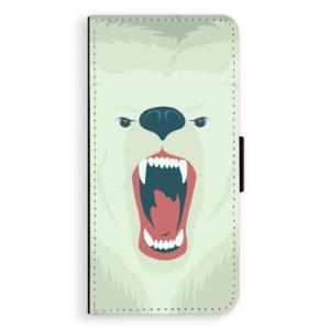 Flipové pouzdro iSaprio Naštvanej Medvěd na mobil Sony Xperia XA