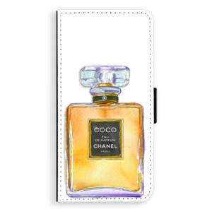 Flipové pouzdro iSaprio Chanel Gold na mobil Sony Xperia XA