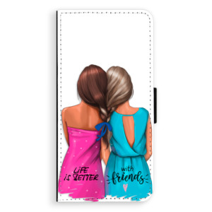 Flipové pouzdro iSaprio Best Friends na mobil Sony Xperia XA