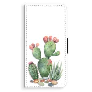 Flipové pouzdro iSaprio Kaktusy 01 na mobil Sony Xperia XA