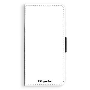 Flipové pouzdro iSaprio 4Pure bílé na mobil Sony Xperia XA