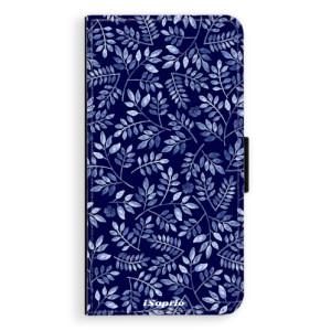 Flipové pouzdro iSaprio Blue Leaves 05 na mobil Nokia 3