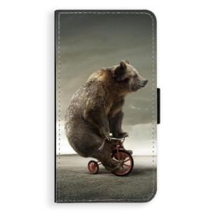 Flipové pouzdro iSaprio Medvěd 01 na mobil Nokia 3