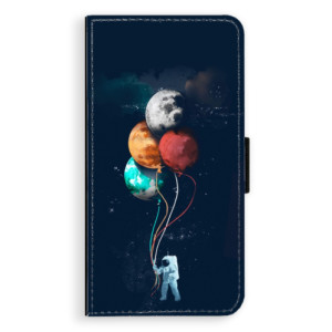 Flipové pouzdro iSaprio Balónky 02 na mobil Nokia 3