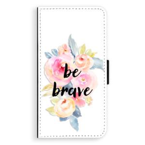 Flipové pouzdro iSaprio Be Brave na mobil Nokia 3