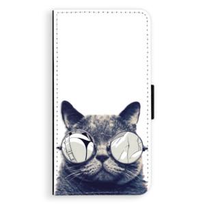 Flipové pouzdro iSaprio Šílená Číča 01 na mobil Nokia 3
