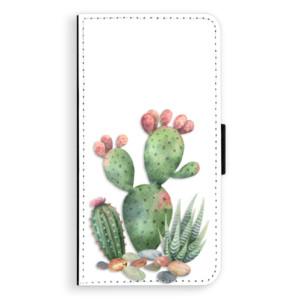 Flipové pouzdro iSaprio Kaktusy 01 na mobil Nokia 3