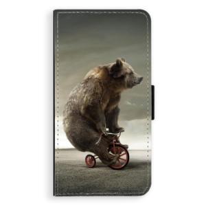 Flipové pouzdro iSaprio Medvěd 01 na mobil Nokia 6