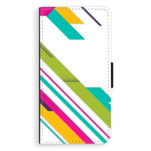 Flipové pouzdro iSaprio Barevné Pruhy 03 na mobil Nokia 6