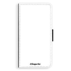 Flipové pouzdro iSaprio 4Pure bílé na mobil Nokia 6
