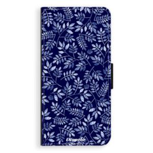 Flipové pouzdro iSaprio Blue Leaves 05 na mobil LG G6 (H870)
