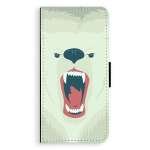 Flipové pouzdro iSaprio Naštvanej Medvěd na mobil LG G6 (H870)