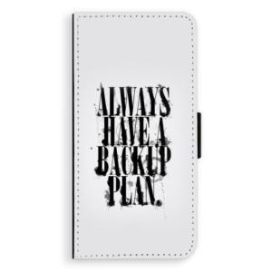 Flipové pouzdro iSaprio Backup Plan na mobil LG G6 (H870)