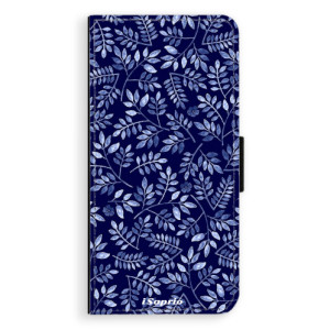 Flipové pouzdro iSaprio Blue Leaves 05 na mobil Huawei P9