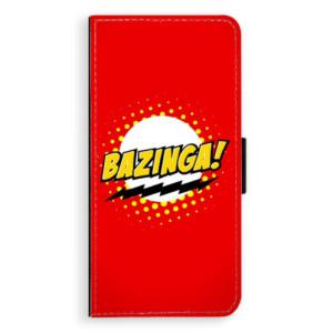 Flipové pouzdro iSaprio Bazinga 01 na mobil Huawei P9