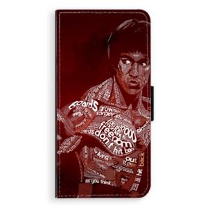 Flipové pouzdro iSaprio Bruce Lee na mobil Huawei P9