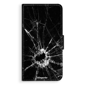 Flipové pouzdro iSaprio Broken Glass 10 na mobil Huawei P9 Lite