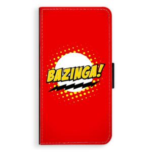 Flipové pouzdro iSaprio Bazinga 01 na mobil Huawei P9 Lite