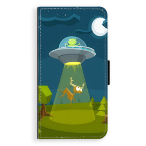 Flipové pouzdro iSaprio Ufouni 01 na mobil Huawei P9 Lite