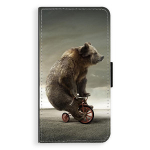 Flipové pouzdro iSaprio Medvěd 01 na mobil Huawei P9 Lite