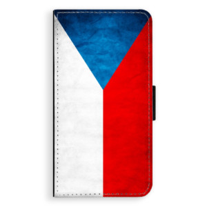 Flipové pouzdro iSaprio Česká Vlajka na mobil Huawei P9 Lite