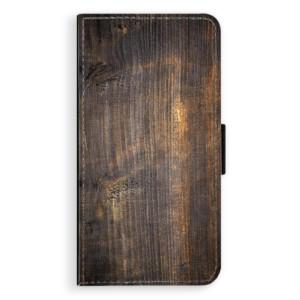 Flipové pouzdro iSaprio Staré Dřevo na mobil Huawei P9 Lite