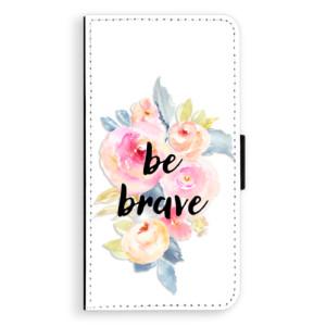 Flipové pouzdro iSaprio Be Brave na mobil Huawei P9 Lite