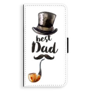 Flipové pouzdro iSaprio Best Dad na mobil Huawei P9 Lite